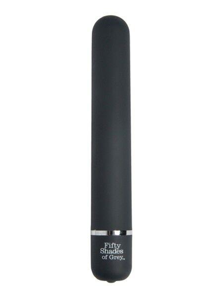 Klassischer glatter Vibrator - 50 Shades of Grey